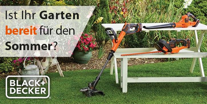 Black & Decker - Ist Ihr Garten bereit für den Sommer?