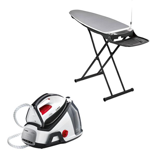 bosch b gelset tds6040 dampfb gelstation 5 8 bar tdn1710 aktiv b geltisch ebay. Black Bedroom Furniture Sets. Home Design Ideas