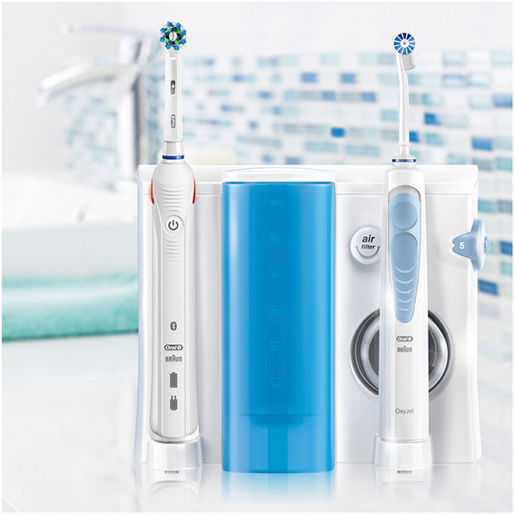 Oral Care Braun Oral-b Care Munddusche Dentalcenter Waterjet Mundpflege-center Zahnbürste