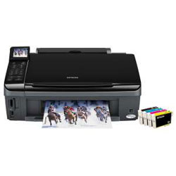 epson stylus sx510w multifunktionsdrucker wlan lan usb ebay. Black Bedroom Furniture Sets. Home Design Ideas