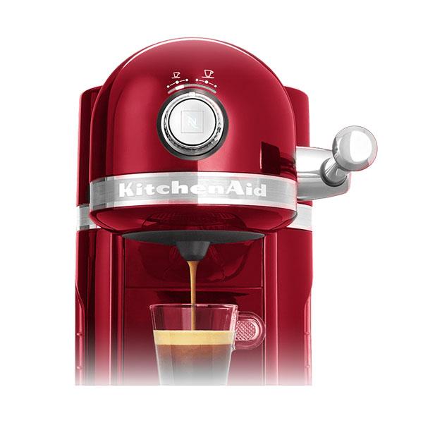 kitchenaid 5kes0503eer 4 artisan nespresso kapselautomat kaffeemaschine ebay. Black Bedroom Furniture Sets. Home Design Ideas