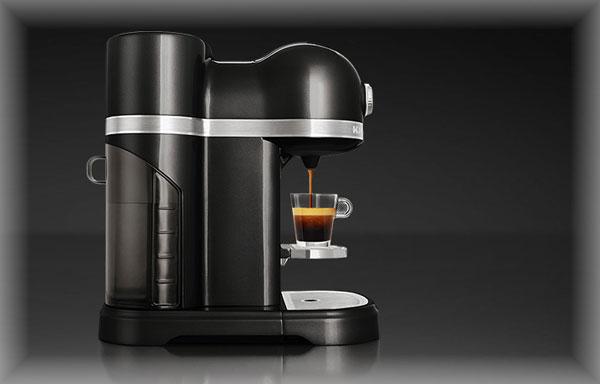kitchenaid 5kes0504e nespresso kapselautomat. Black Bedroom Furniture Sets. Home Design Ideas