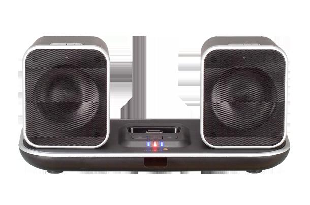 muvid i fi 90 drahtlose lautsprecher ipod iphone dock 30m reichweite ebay. Black Bedroom Furniture Sets. Home Design Ideas