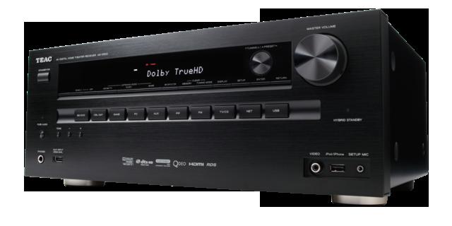 AG D500  B  angled L R976x488 Teac AG D500, 7.2 AV Receiver (USB, HDMI,Netzwerk, uvam) inkl. Versand 249€!