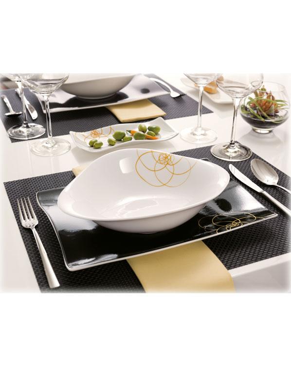 villeroy boch piemont tafelbesteck 24tlg besteckset 18. Black Bedroom Furniture Sets. Home Design Ideas