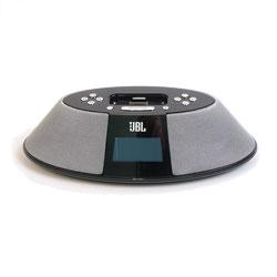 jbl on time 200 p schwarz rds radio mit lautsprecher ebay. Black Bedroom Furniture Sets. Home Design Ideas