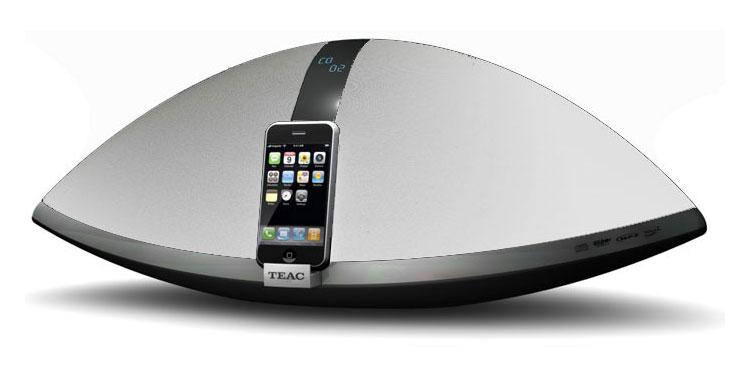 teac sr100i cd radio mit usb port und ipod dock silber ebay. Black Bedroom Furniture Sets. Home Design Ideas