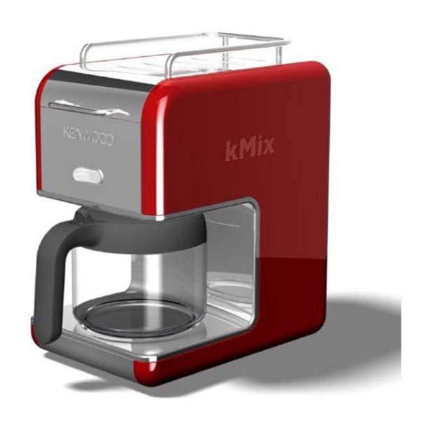 kenwood cm 021 kmix kaffeemaschine rot kaffeeautomat 1200. Black Bedroom Furniture Sets. Home Design Ideas