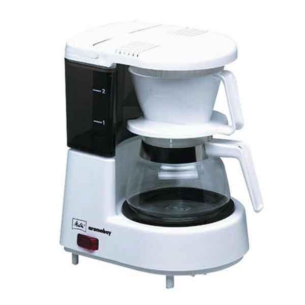 melitta aromaboy kaffeeautomat wei kaffeemaschine 2 tassen kaffeeautomat ebay. Black Bedroom Furniture Sets. Home Design Ideas