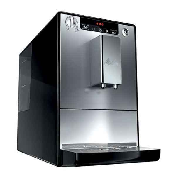 melitta caffeo solo e 950 103 kaffeevollautomat kaffeemaschine silber schwarz. Black Bedroom Furniture Sets. Home Design Ideas