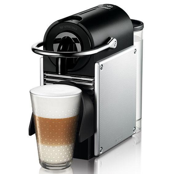 de 39 longhi en 125 s pixie nespresso silber kaffeeautomat espressomaschine 8004399324268 ebay. Black Bedroom Furniture Sets. Home Design Ideas