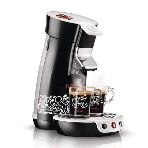 philips hd 7826 60 senseo viva cafe keith haring sonderedition kaffeemaschine ebay. Black Bedroom Furniture Sets. Home Design Ideas