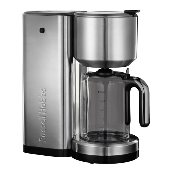 russell hobbs allure kaffeemaschine edelstahl schwarz kaffeeautomat ebay. Black Bedroom Furniture Sets. Home Design Ideas