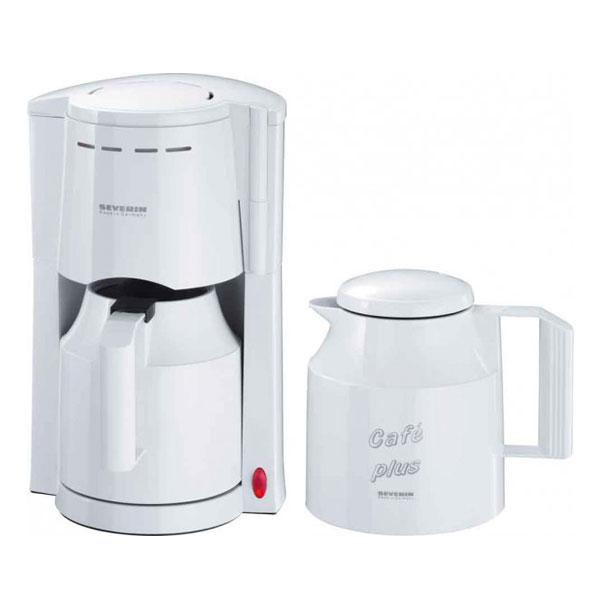 severin ka 9208 kaffeeautomat wei kaffeemaschine 2 thermokannen filtermaschine ebay. Black Bedroom Furniture Sets. Home Design Ideas
