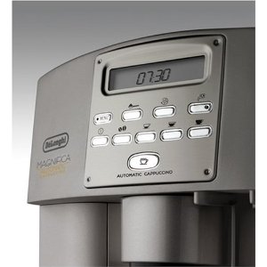 delonghi esam 3500 kaffeevollautomat silber magnifica ebay. Black Bedroom Furniture Sets. Home Design Ideas