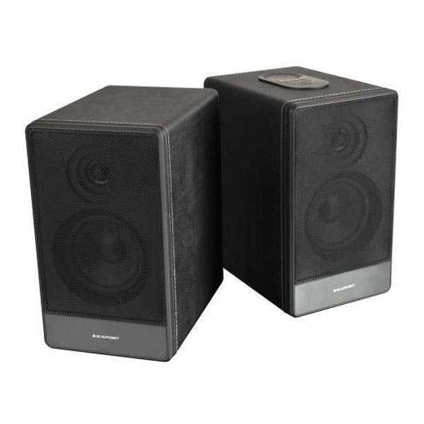 blaupunkt bt105 wh 2 stk bluetooth lautsprecher 2 x 40 watt usb aux wei ebay. Black Bedroom Furniture Sets. Home Design Ideas