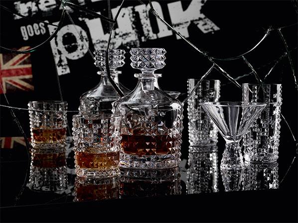4-teilig Kristall Nachtmann Whiskygläser Punk