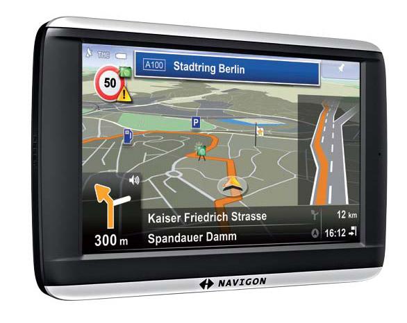NAVIGON 42 Plus Europe 44 Länder 10,9cm Touchscreen