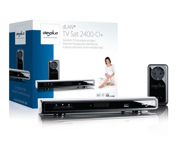 devolo dlan tv sat 2400 ci sat receiver ebay. Black Bedroom Furniture Sets. Home Design Ideas
