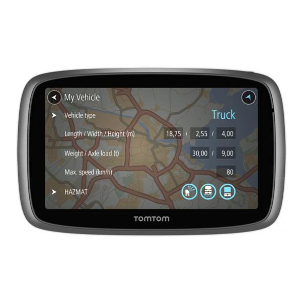 tomtom trucker 500 navigationssystem 5 39 39 display. Black Bedroom Furniture Sets. Home Design Ideas