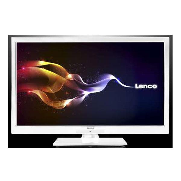lenco led 2618 led tv fernseher 66 cm weiss ebay. Black Bedroom Furniture Sets. Home Design Ideas