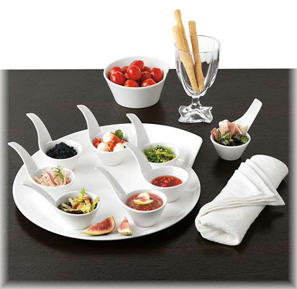villeroy boch new wave flying dinner set 4tlg v b ebay. Black Bedroom Furniture Sets. Home Design Ideas