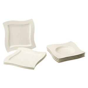 villeroy boch new wave tafel set 8tlg tafel service ebay. Black Bedroom Furniture Sets. Home Design Ideas