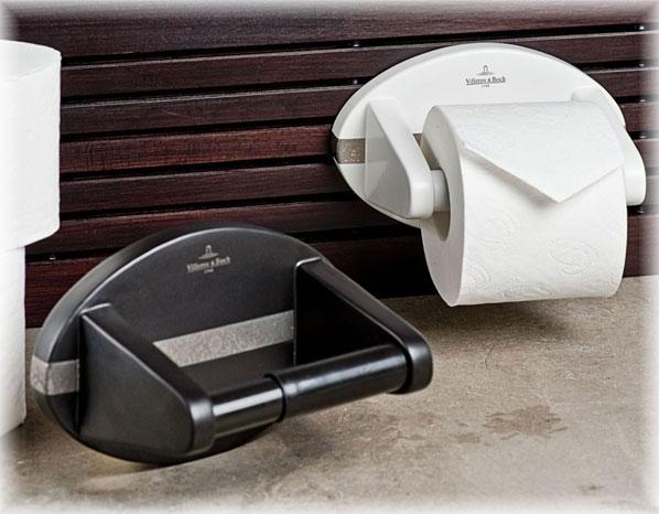 villeroy boch papierrollenhalter st etienne wei ebay. Black Bedroom Furniture Sets. Home Design Ideas