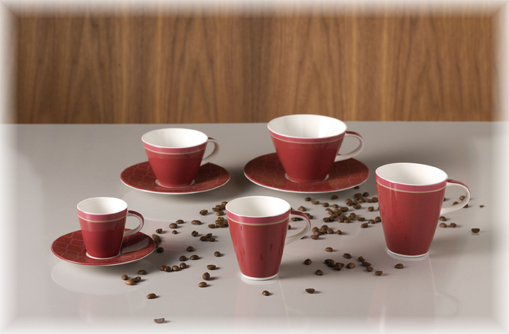 villeroy boch caff club uni berry caf au lait untertasse 17 cm ebay. Black Bedroom Furniture Sets. Home Design Ideas