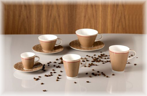 villeroy boch caff club uni caramel becher mit henkel klein 0 20 l ebay. Black Bedroom Furniture Sets. Home Design Ideas