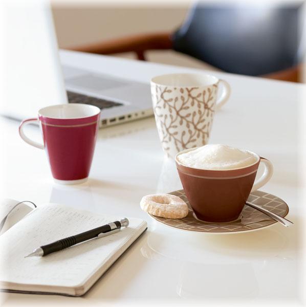 villeroy boch caff club floral steam caf au lait obertasse tasse ebay. Black Bedroom Furniture Sets. Home Design Ideas