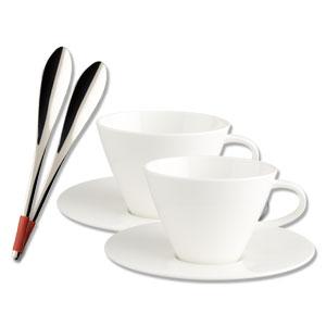 villeroy boch caffe club cafe au lait 6tlg ebay. Black Bedroom Furniture Sets. Home Design Ideas