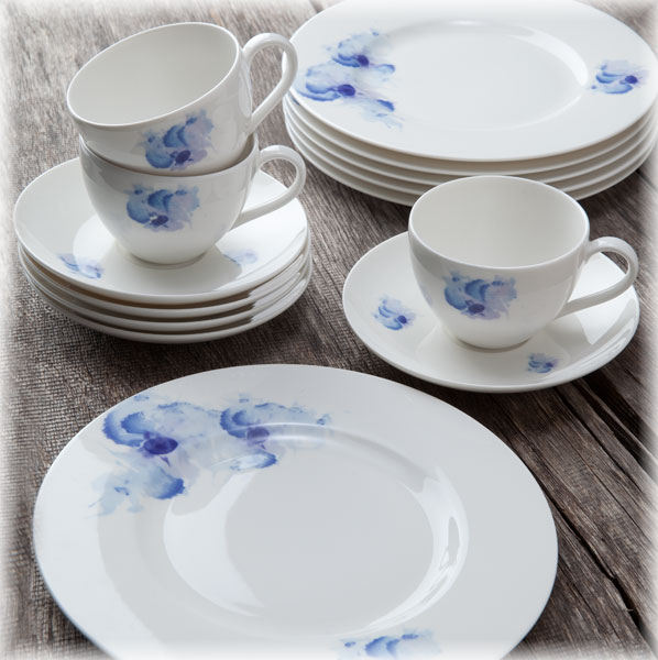 gallo design villeroy boch group pansy blue kaffeeset